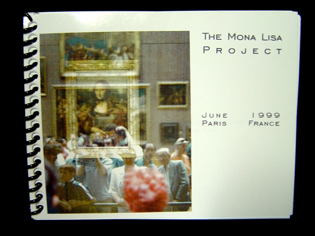 Cover of Mona Lisa Project Book