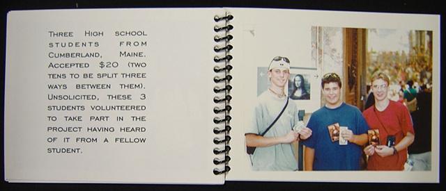 Three high-school students