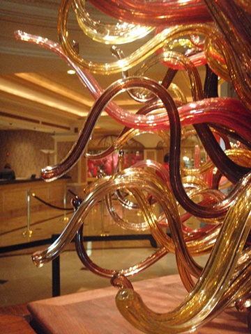 Gold Strike Casino and Resort sculpture (detail)