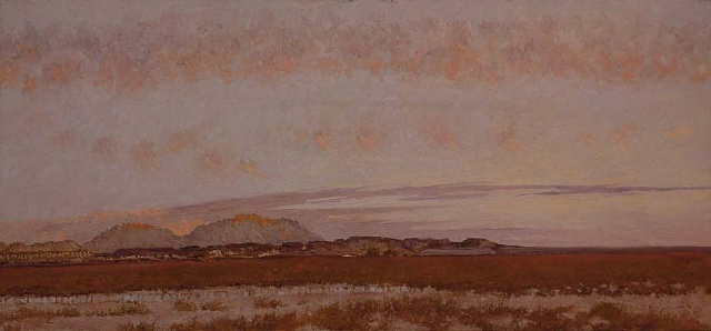 painting texas west texas plein aire