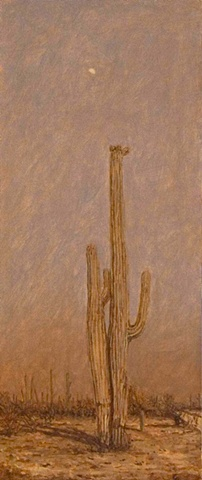 oil painting, Arizona, Tucson, mission, plein air