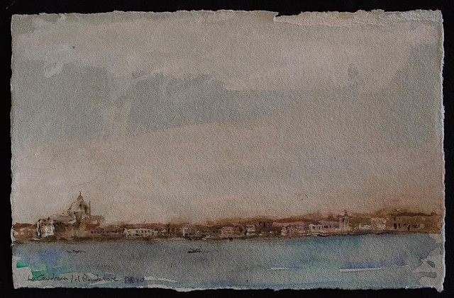 mixed medium, art, venice,venezia, italy, work on paper