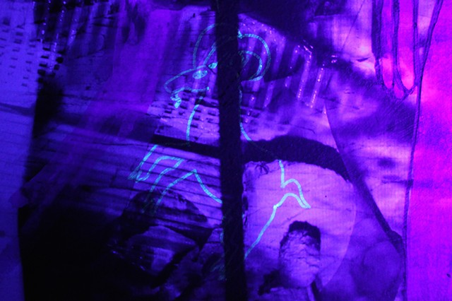 Detail under UV light.