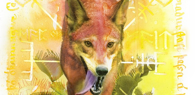 Red Wolf and Venus Flytrap (detail)