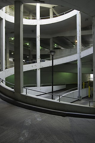 Parking Structure in Chicago's Loop photgraphed by Lucy Mueller