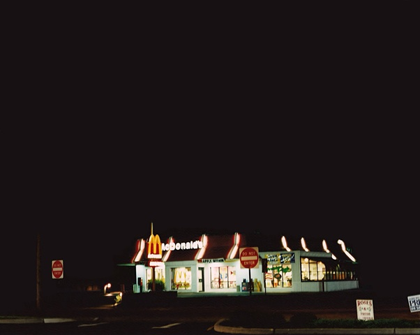 """New Jersey at Night Series"" (McDonald's, Shrewsbury, NJ)"