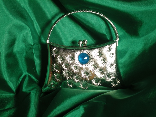 """Sense of Herself"" (Silver Purse) 1 out of over 750 different images 1995-Present"
