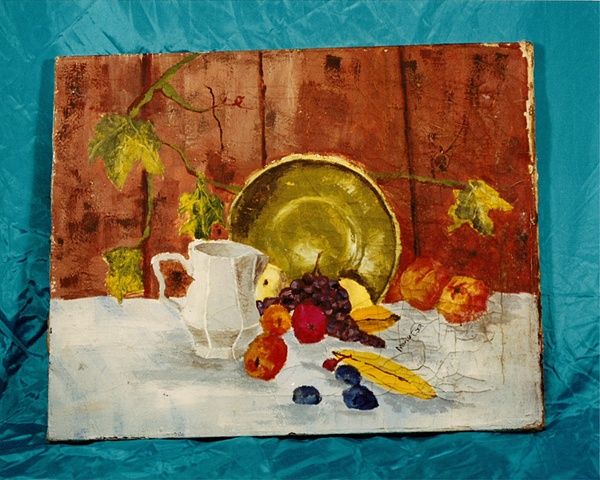 """""""Sense of Herself"""" (Still Life Painting) 1 out of over 750 different images 1995-present"""