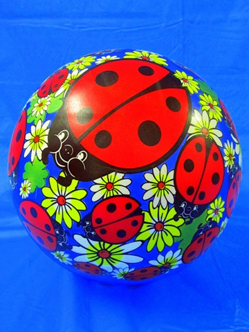 Sense of Herself (Ball with Ladybugs) 1 out of over 750 different images 1995-present