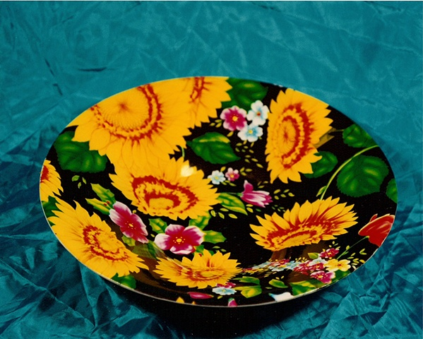 """Sense of Herself"" (Platter) 1 out of over 750 differrent images 1995-present"