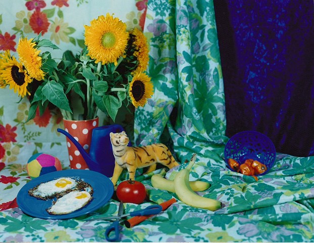 """Still Life with Plate of Fried Eggs"""