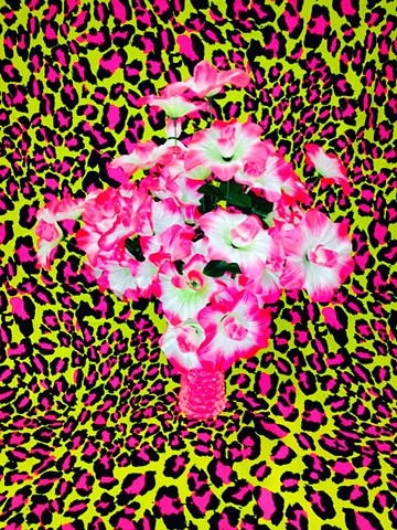 Can You Dig It? A Chromatic Series Of Floral Arrangements (Leopard)