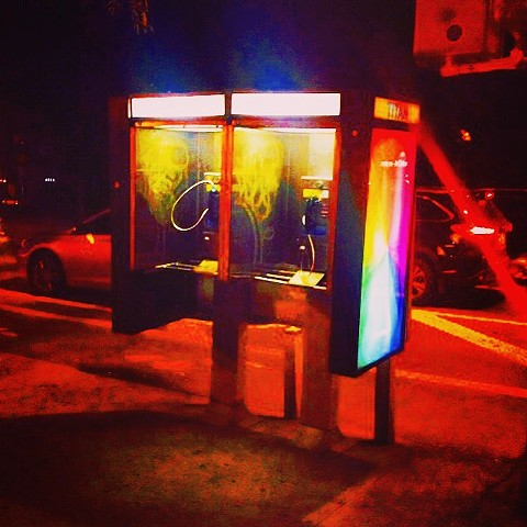Pay Phone (Corner of 10th St. and 2nd Ave., NYC)