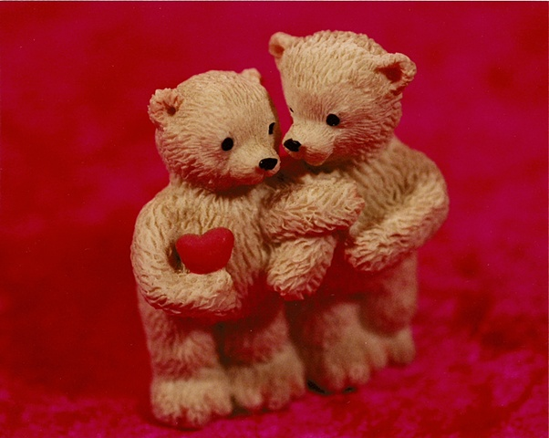 """Sense of Herself"" (Teddy Bears) 1 out of over 750 different images 1995-present"