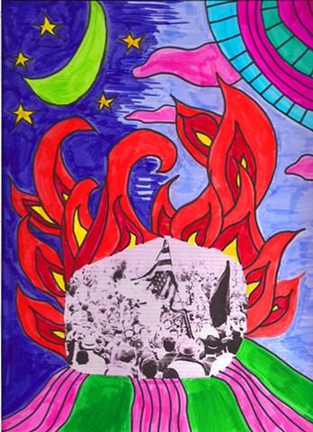 Revolution: An Unconscious (Deeper)--Flag Burning