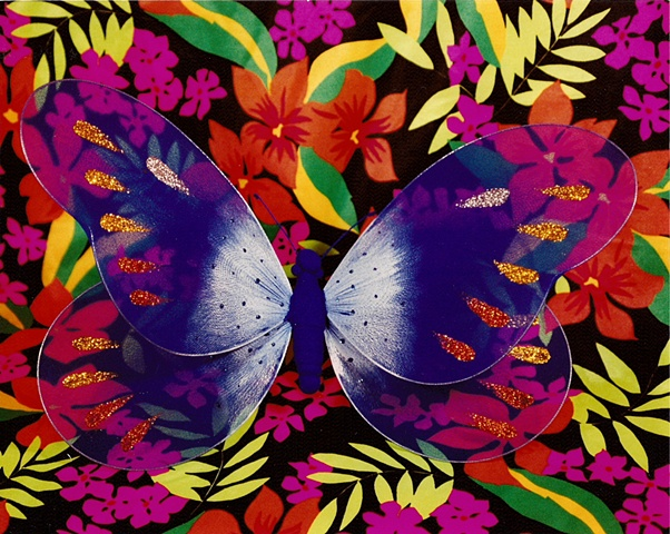 """""""Sense of Herself"""" (Butterfly) 1 out of over 750 different images 1995-present"""