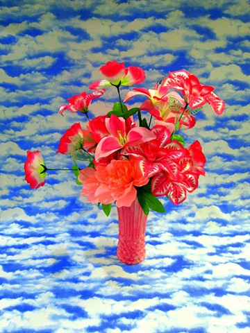 Can You Dig It? A Chromatic Series of Floral Arrangements (Sky)