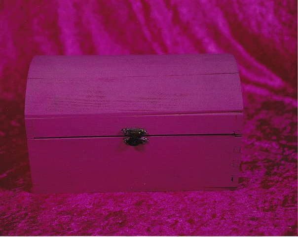 """Sense of Herself"" (Pink Wooden Box) 1 out of over 750 different images 1995-present"