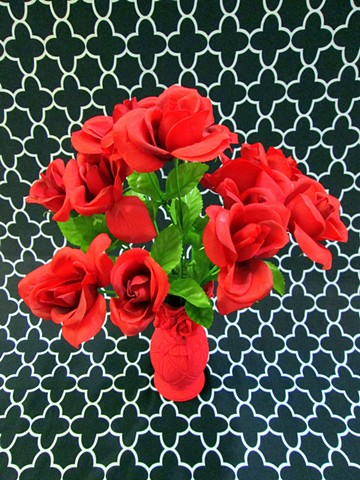 Can You Dig It? A Chromatic Series of Floral Arrangements (Red)