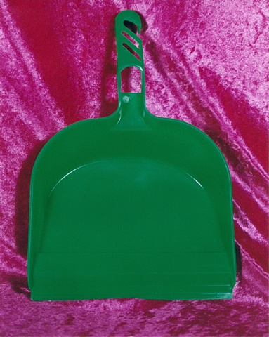 """""""Sense of Herself"""" (Green Dustpan) 1 out of over 750 different images 1995-present"""