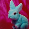 """Sense of Herself"" (Blue Bunny) 1 out of over 750 different images 1995-present"