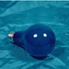 """Sense of Herself"" (Blue Bulb) 1 out of over 750 different images 1995-present"