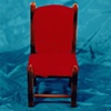 """Sense of Herself"" (Red Chair) 1 out of over 750 different images 1995-present"