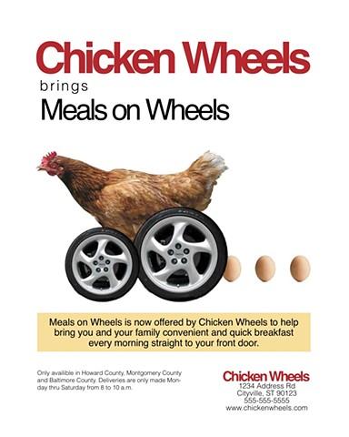 Chicken Wheels