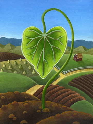 Spring, Healthy growth of a verdant heart