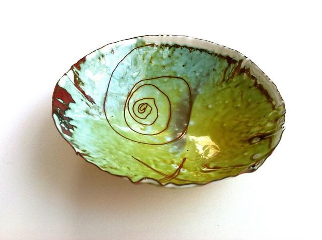 Pinch Bowl #9, Interior