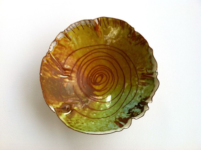 Pinch Bowl #8, Interior