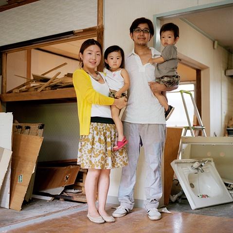 Young Family, Enmyojigaoka Apartments, Oyamazaki, Japan 2008