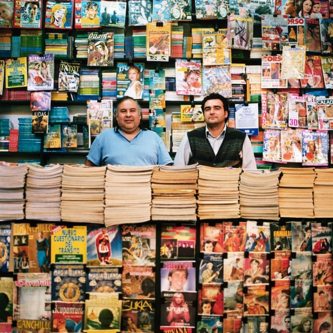 Magazine Stand, Central Station, Santiago, Chile, 2006