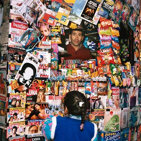 Kiosk, Mercado Central, Santiago, Chile, 2006