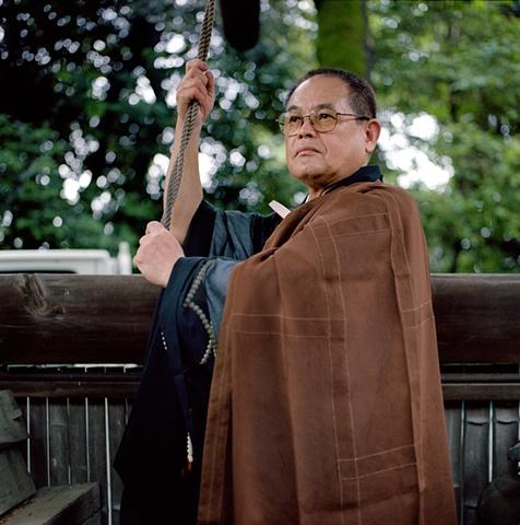 Buddhist Monk, Dainen-ji Temple, Oyamazaki, Japan 2008