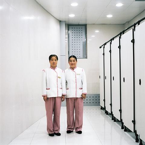 Restroom Attendants, Changchun, China 2003