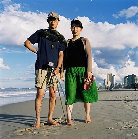 Japanese Honeymooners, Gold Coast, Australia.
