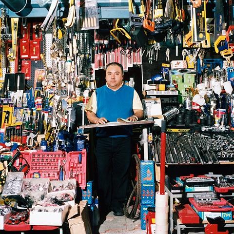 Hardware Store #2, Matucana Street, Barrio Brasil, Santiago, Chile 2006