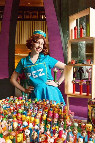 Victoria, Pez Collector, Community Hall, NGV International, VIC.
