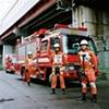 Firemen, Oyamazaki Fire Station, Oyamazaki, Japan 2008