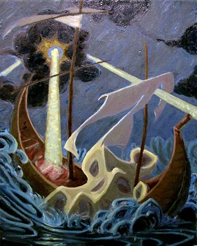 John Burkett Painting Douse