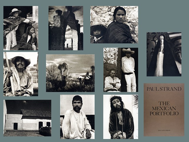 Beautiful portfolio of gravure photos made in Mexico by artist Paul Strand