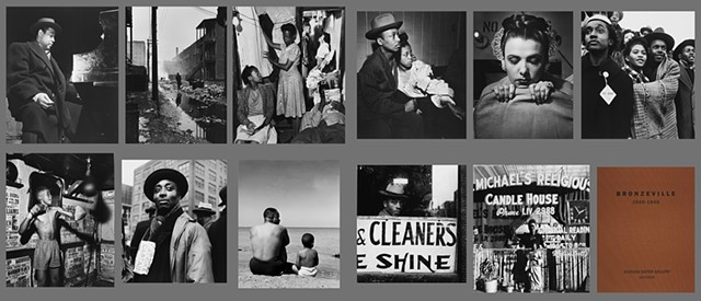 Portfolio of photos by artist Wayne Miller of Black life in Chicago immediately after WWII
