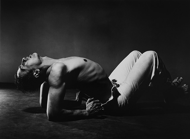 Photo by artist Barbara Morgan of dancer Jose Limon
