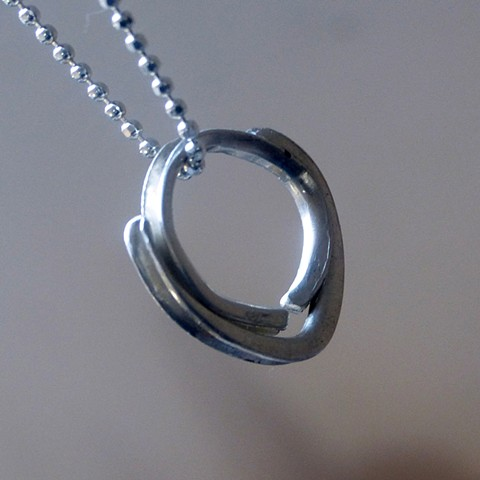 sterling silver/ metal smithing/ jewelry/ pendant