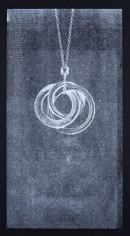 Ghost, Interlocking Circles Pendant