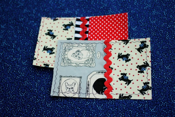 Patchwork Postcards - Mailable Quilts!