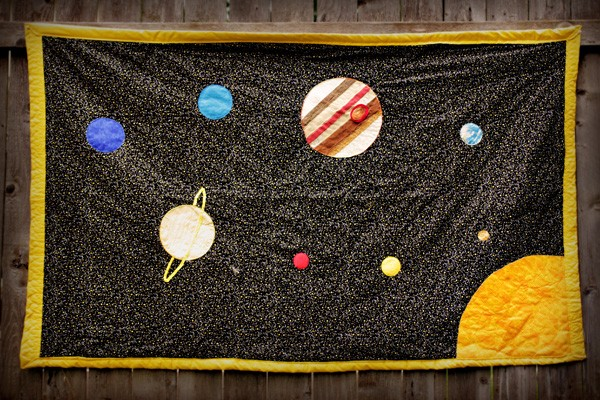 for Solar system quilt pattern