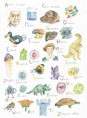 Baby Science Alphabet