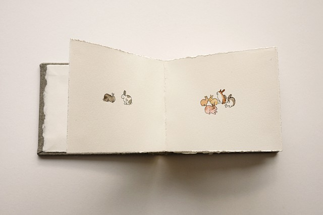 artist book rabbits